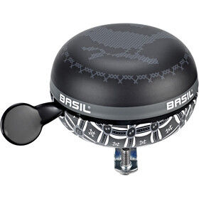 Basil Big Bell Bohème Ringeklokke, charcoal